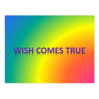 Postal el deseo viene verdad