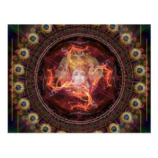 Postal El despertar divino con el poder de Gayatri.