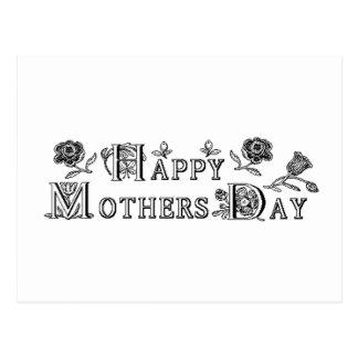 Postal El día de madre feliz