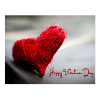 Postal El día de San Valentín feliz