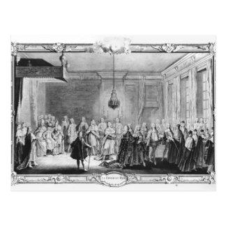 Postal El dique de rey Louis XV