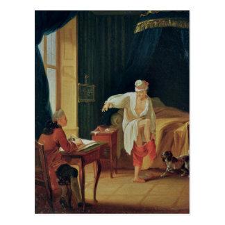 Postal El dique de Voltaire en Ferney, después de 1759