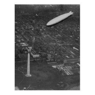 """Postal El dirigible """"USS Los Angeles"""" ZR3 de los E.E.U.U."""