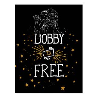 Postal El Dobby de Harry Potter el | está libre