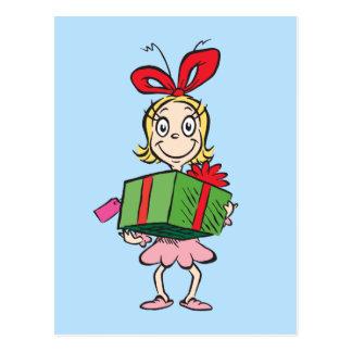 Postal El Dr. Seuss el | Cindy-Lou que - llevar a cabo el