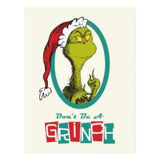 Postal El Dr. Seuss el | el Grinch