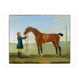 Postal El duque del vuelo Childers, 1742 de Devonshire