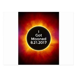 Postal El eclipse solar americano consiguió el 21 de