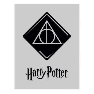 Postal El encanto el | de Harry Potter mortal santifica
