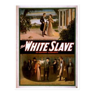 Postal El esclavo blanco de Bartley Campbell 1911