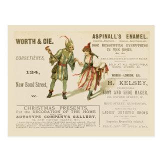 Postal El esmalte de Aspinall