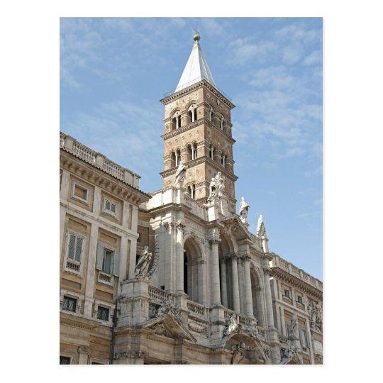 Postal El exterior de la iglesia de Maria Maggiore del