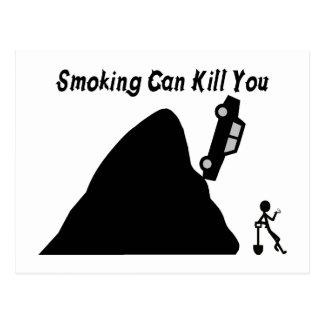Postal El fumar puede matarle