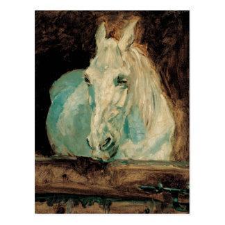 Postal El Gazelle del caballo blanco - Enrique