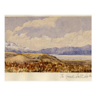 Postal El Great Salt Lake, Utah