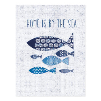 Postal El hogar costero del arte el | está al lado del