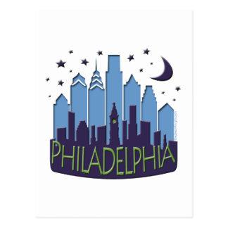 Postal El horizonte de Philly mega se refresca