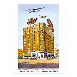 Postal El hotel de Patterson, Bismark, Dakota del Norte