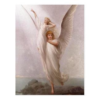 Postal El ~ humano del ~ del alma (ángel/ángeles)