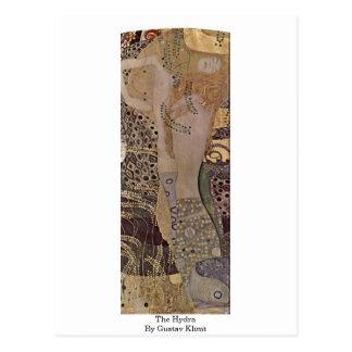 Postal El Hydra de Gustavo Klimt