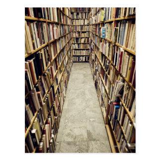 Postal El interior de una librería de segunda mano Suecia