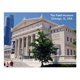 Postal El ir al museo del campo