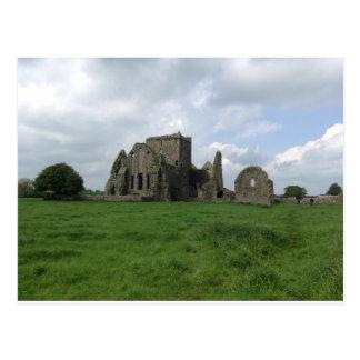 Postal El irlandés de la abadía de Irlanda Hore arruina