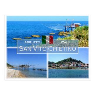 Postal ÉL Italia - Abruzos - San Vito Chietino -