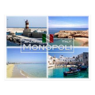 Postal ÉL Italia - Apulia - Puglia - Monopoli -