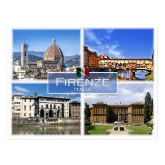 Postal ÉL Italia - Firenze -