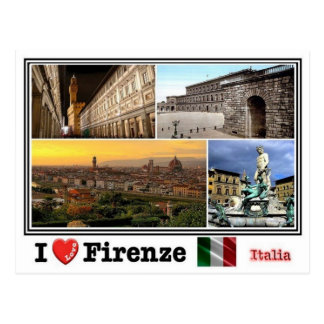Postal ÉL Italia - Firenze - mosaico -