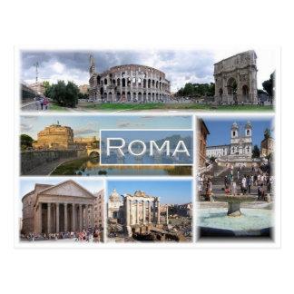 Postal ÉL Italia - Italia - Roma -