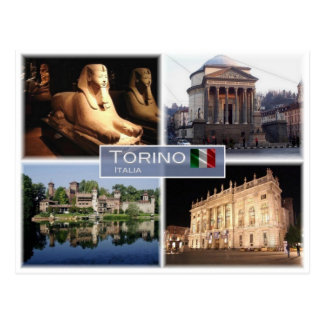 Postal ÉL Italia - Italia - Torino Turín -