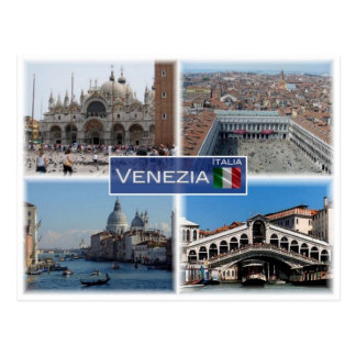 Postal ÉL Italia - Italia - Venezia -