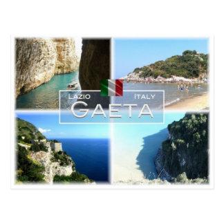 Postal ÉL Italia - Lazio - Gaeta -