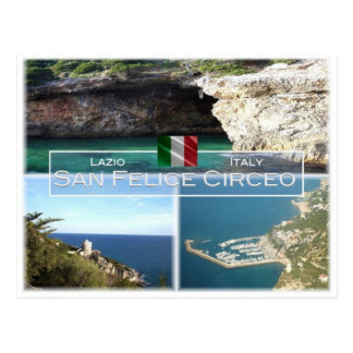 Postal ÉL Italia - Lazio - San Felice Circeo -