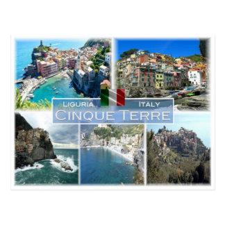 Postal ÉL Italia - Liguria - Cinque Terre -