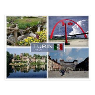 Postal ÉL Italia - Turín Torino - Piamonte -