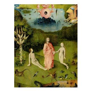 Postal El jardín de los placeres terrestres 2