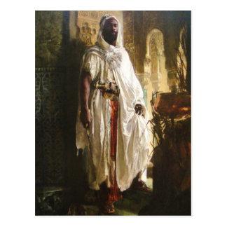 Postal El jefe del Moorish