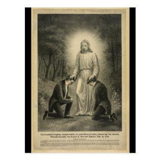 Postal El Jr. joven de Joseph Smith del profeta (1898)