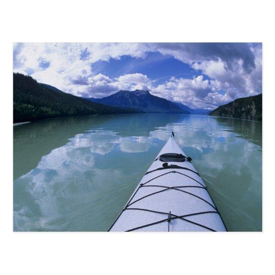 Postal El Kayaking en el extremo del extremo del lago