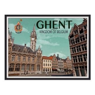 Postal El Korenmarkt - la Gante
