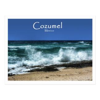 Postal El lado oeste de Cozumel