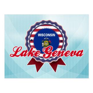 Postal El lago Lemán, WI