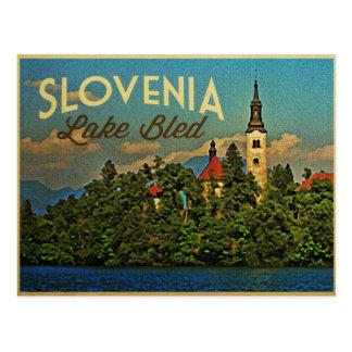 Postal El lago sangró Eslovenia