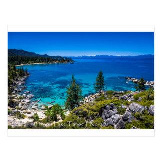 Postal El lago Tahoe