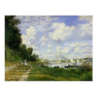 Postal El lavabo en Argenteuil - Claude Monet