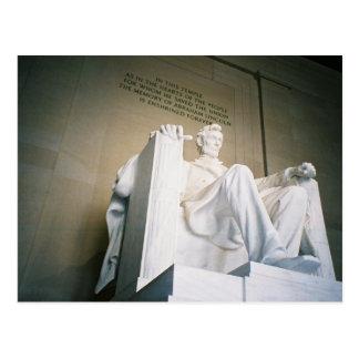 Postal El Lincoln memorial