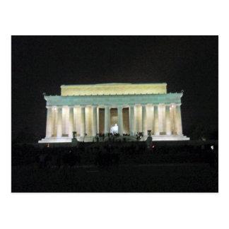 Postal El Lincoln memorial en el Washington DC 002 de la